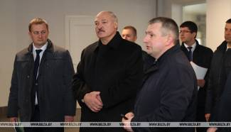 Alexander Lukashenko Visited Mgle Farm in Smolevichi Region